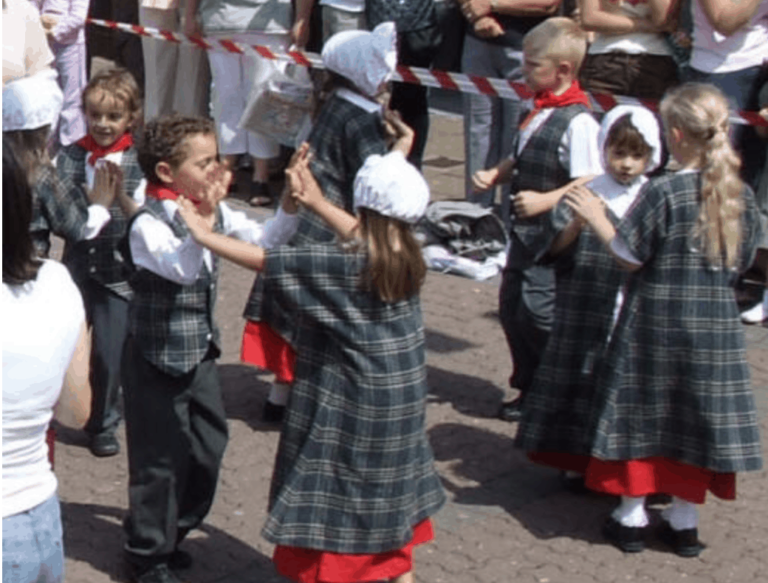 Welsh Folk Dancing at the Castle,