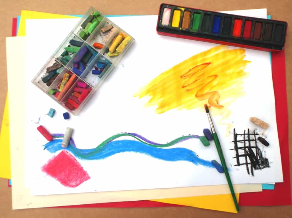 ART FOR WELLBEING, DROP-IN – SATURDAY or SUNDAY