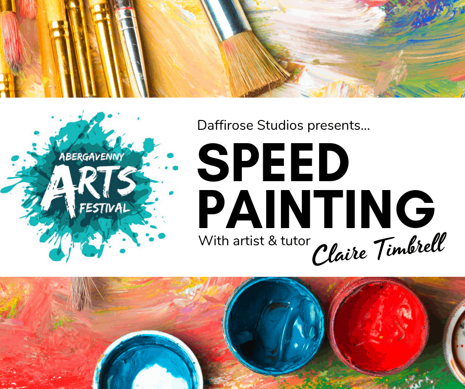 SPEED PAINTING with DAFFI ROSE ART, Saturday and Sunday
